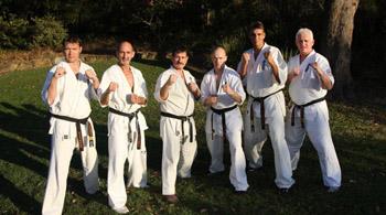 Camp instructors Brad Gillespie Trevor Tockar Nik Cujic Garry O'Neill Kenny Uytenbogaardt and Stuart Corrigal.jpg