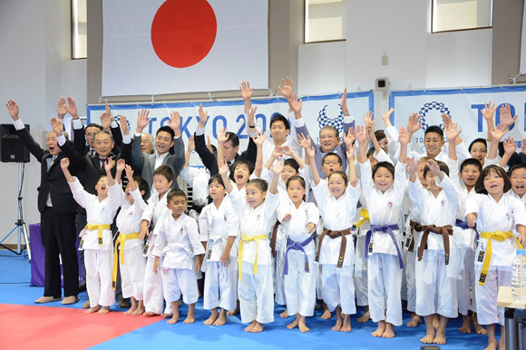 Karate officially added as an Olympic sport for Tokyo 2020