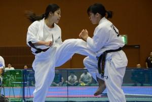 全日本女子ウェイト制重量級決勝/小田幸奈vs.島田慧巳