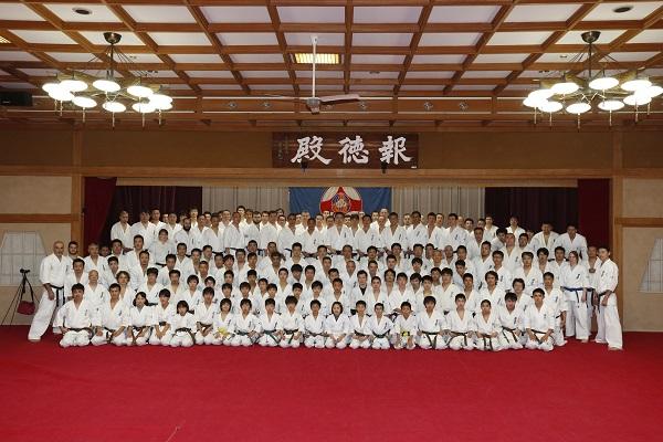 三峯神社にて恒例の2018年総本部冬合宿を実施