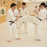 ロシアと日本の選手合同稽古で松井館長が再び指導